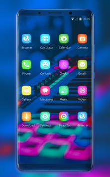 Theme for music band electroacoustic wallpaper screenshot 1