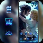 Bright fantasy  love theme icon