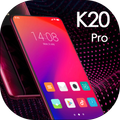Theme for Redmi K20 Latest 2019 red launcher