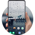 Rain drops HD Wallpapers glass city theme Find X