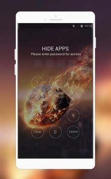 Samsung Galaxy S9 launcher | Fire stone theme screenshot 2