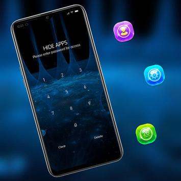 Abstract blue bright shiny light theme screenshot 2