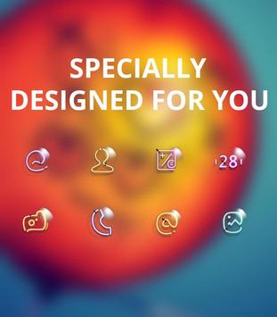 Bright Red Ball Light theme screenshot 3
