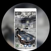 Luxury car theme | super sports launcher icon