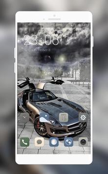 Luxury car theme | super sports launcher poster