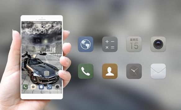 Luxury car theme | super sports launcher screenshot 3