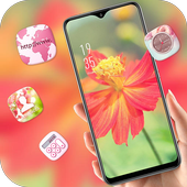 Blooming Flower Bright Sun landscape theme icon