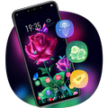 Theme for roses flowers hd launcher V15 Pro