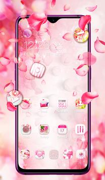 Pink Pretty Flower Theme 2019 screenshot 5