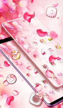 Pink Pretty Flower Theme 2019 screenshot 6