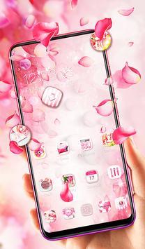 Pink Pretty Flower Theme 2019 screenshot 1