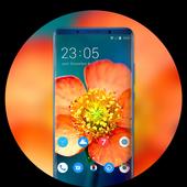 Theme for Meizu Pro 7 flower wallpaper icon