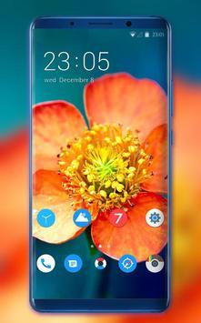 Theme for Meizu Pro 7 flower wallpaper poster