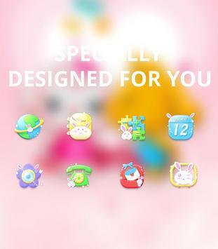 Cartoon Cute Pet Love theme screenshot 3