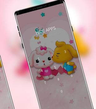 Cartoon Cute Pet Love theme screenshot 2