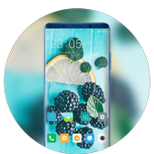 Theme for summer fresh cool fruits wallpaper icon
