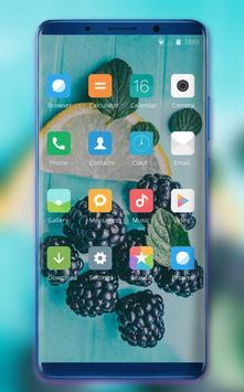 Theme for summer fresh cool fruits wallpaper screenshot 1