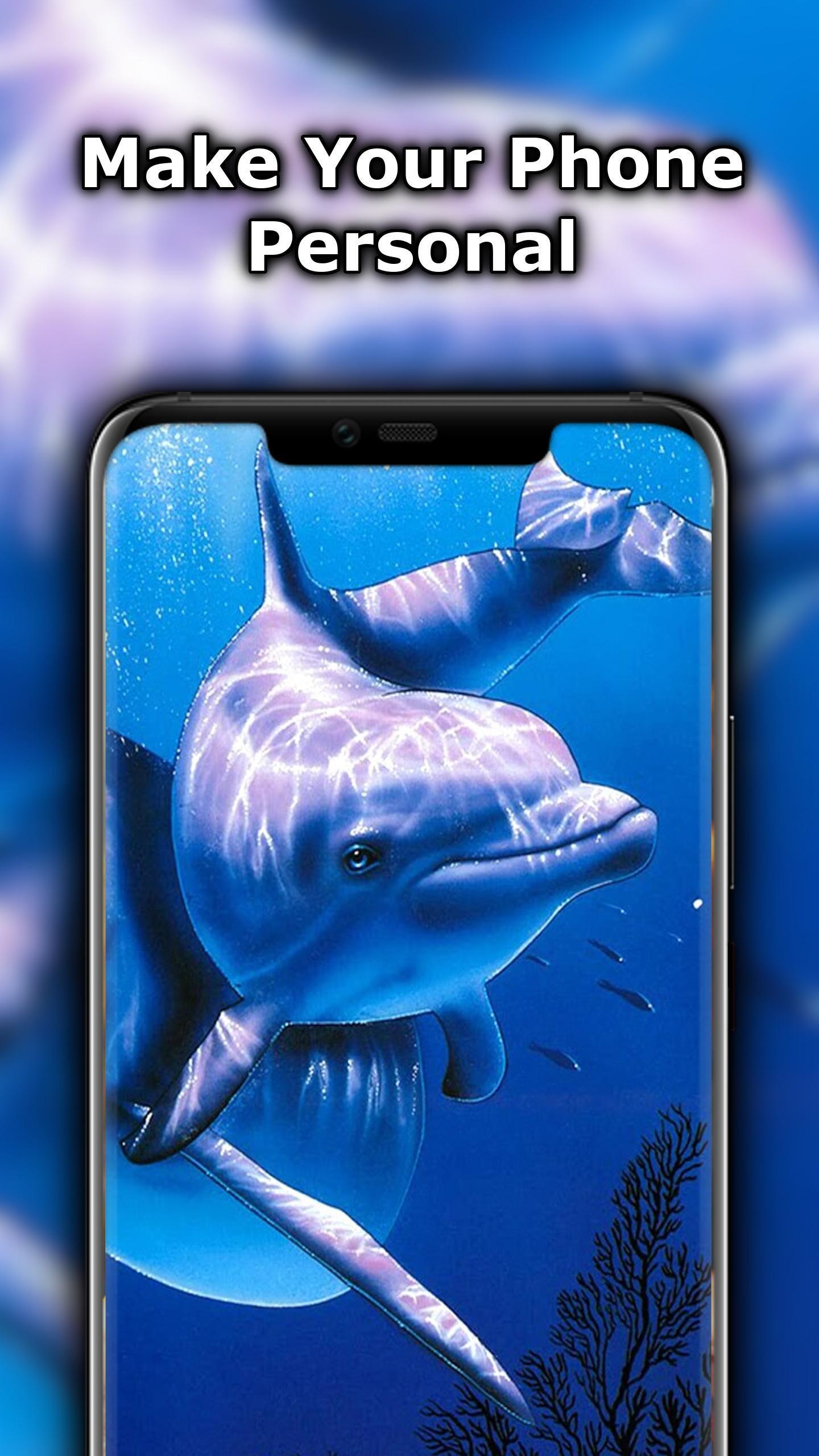 Android 用の かわいいイルカの壁紙 Apk をダウンロード