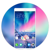 Theme for Vivo v11 Pro   beauty space launcher icon