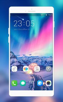 Theme for Vivo v11 Pro   beauty space launcher poster
