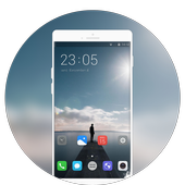 Theme for vivo Y81i | lonely person launcher icon