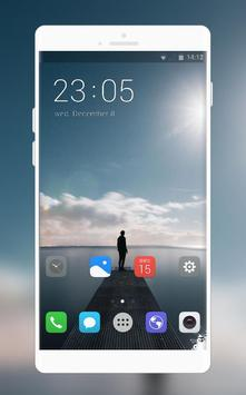 Theme for vivo Y81i | lonely person launcher poster