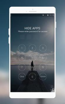 Theme for vivo Y81i | lonely person launcher screenshot 2