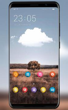 Beautiful natural scenery theme /realme 3 launcher poster