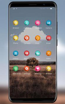 Beautiful natural scenery theme /realme 3 launcher screenshot 1