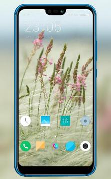 Small fresh flowers theme for sharp aquos r2 poster