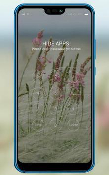 Small fresh flowers theme for sharp aquos r2 screenshot 2