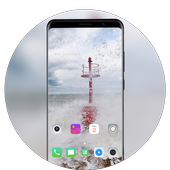 Nokia 6.1 Plus (Nokia X6) theme | Whirlwind warn icon