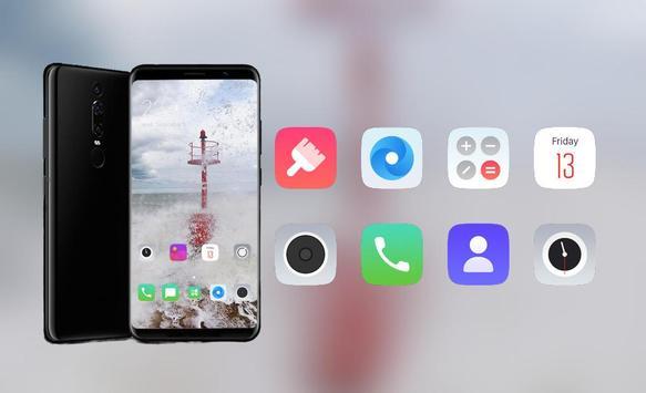 Nokia 6.1 Plus (Nokia X6) theme | Whirlwind warn screenshot 3