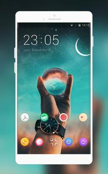 Xiaomi Poco F1 theme | Fantasy glass ball poster