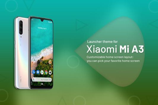 Theme for Xiaomi Mi A3 poster