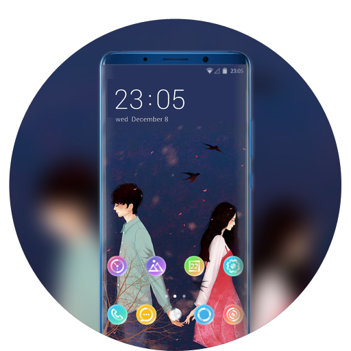 Theme for xiaomi mix3 wallpaper
