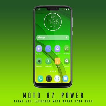 Theme for Motorola Moto G7 / Moto G7 poster