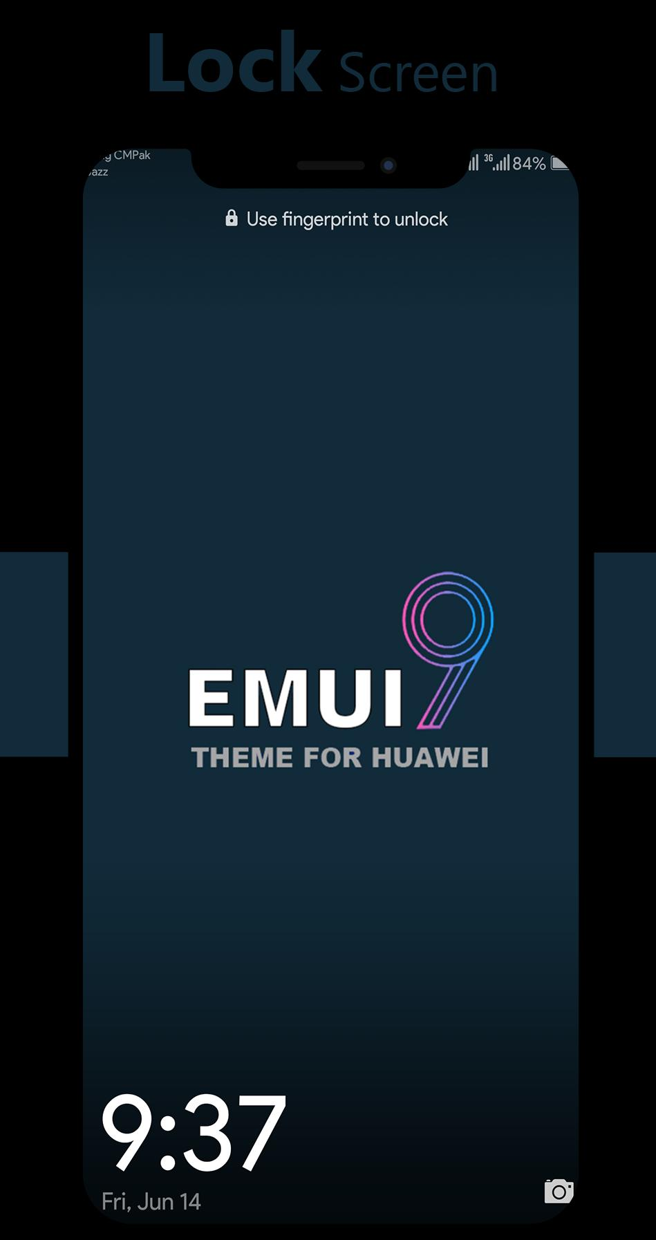Dark Emui-9 Theme for Huawei Emui 5/8/9 for Android - APK