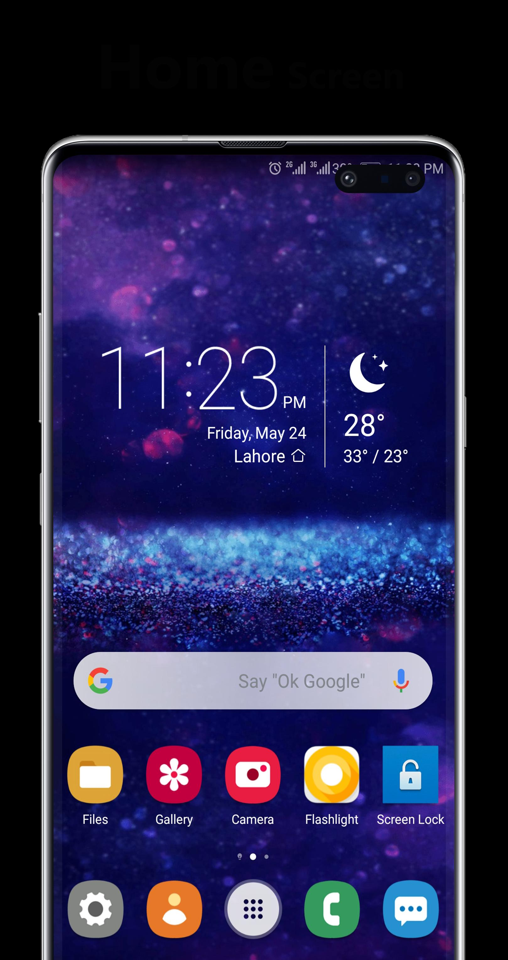 S10 One Ui Dark Emui Theme for Android - APK Download