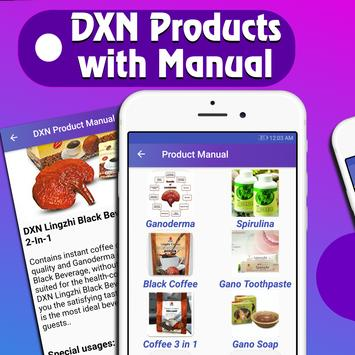 DXN Product Manual poster