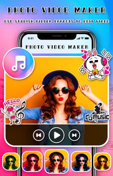 Photo Video Maker With Mp3 Music poster