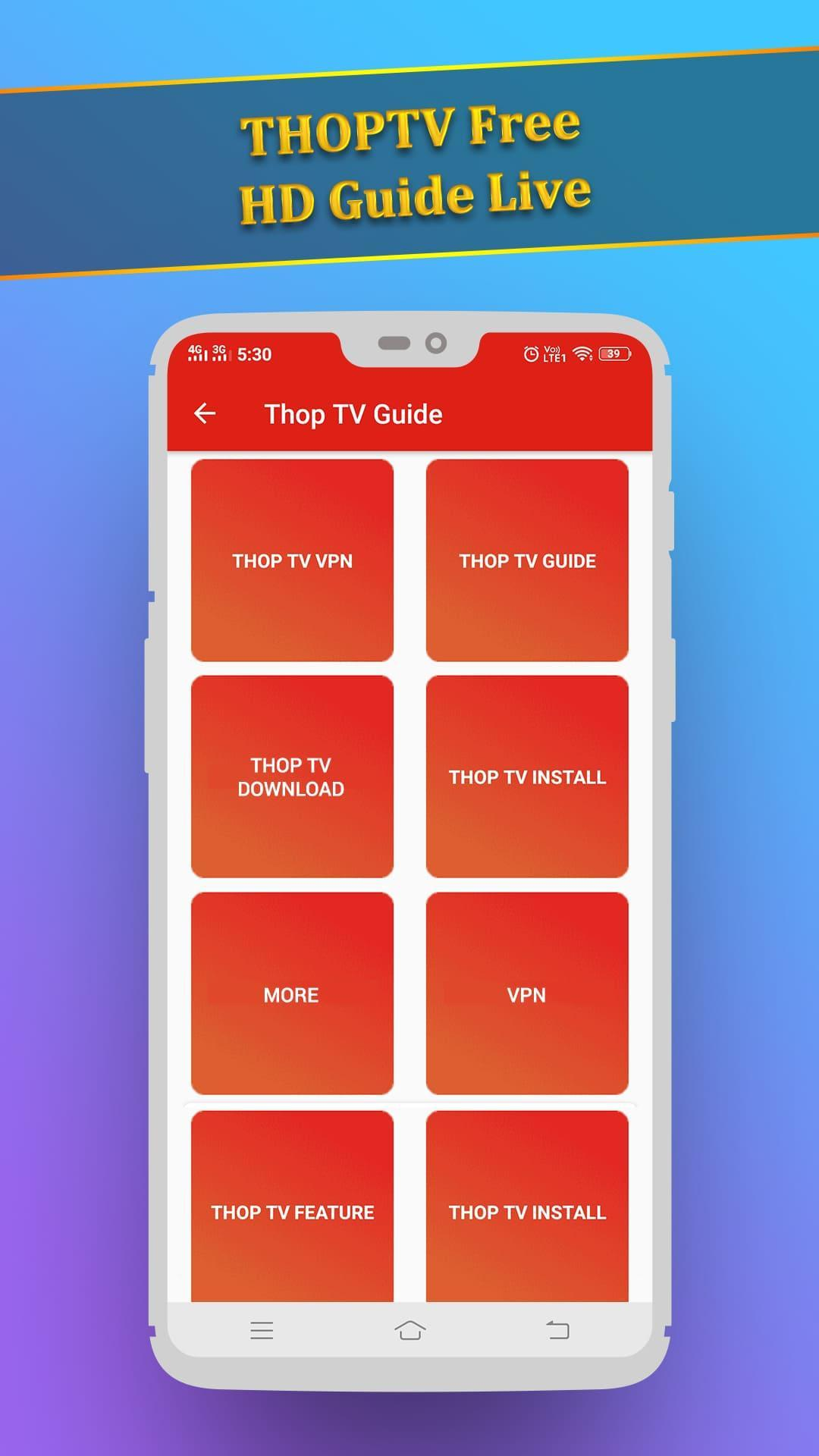 THOPTV Guide - 2019 for Android - APK Download