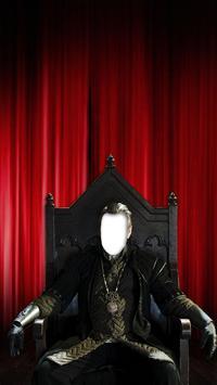 Throne Photo Montage Maker screenshot 2