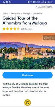 Granada Best Tickets and Tours, City Guide screenshot 1