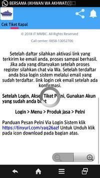 Tiket Kapal screenshot 1