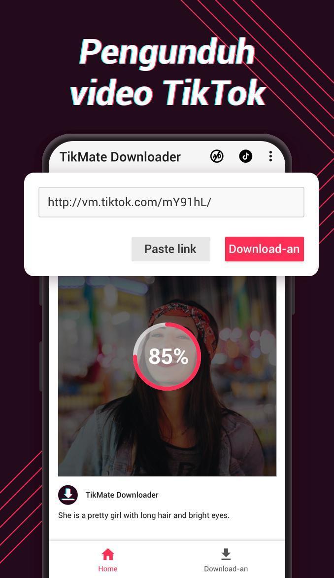 Pengunduh Video Untuk Tiktok Tikmate For Android Apk Download