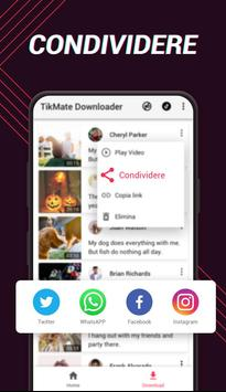 4 Schermata Downloader video per TikTok - TikMate