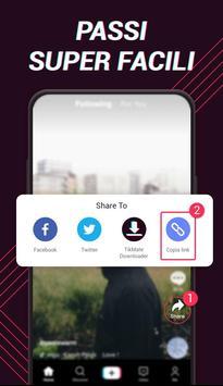 1 Schermata Downloader video per TikTok - TikMate