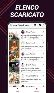 2 Schermata Downloader video per TikTok - TikMate