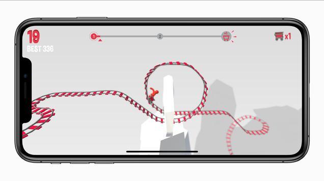 The Tiny Loops.io - craziest Roller Coaster Advice screenshot 10